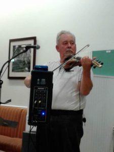 Carl Grantham on Violin at The Cannery, Hayward